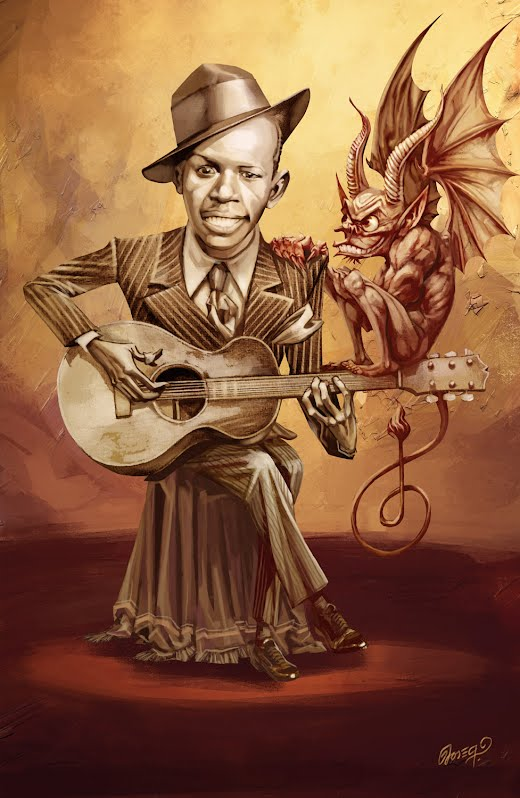 Robert Johnson & The Devil